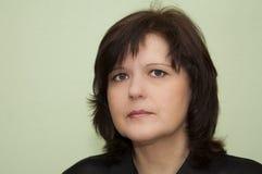 Fronte della donna Fotografie Stock Libere da Diritti