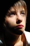 Fronte della giovane donna Fotografia Stock Libera da Diritti