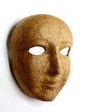 Fronte della maschera Immagini Stock