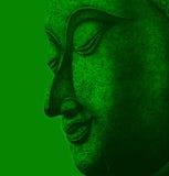 Fronte della meditazione della pittura dell'illustrazione di Buddha illustrazione vettoriale