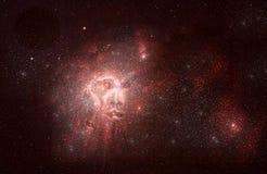 Fronte della nebulosa Immagine Stock