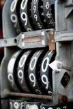 Fronte della pompa di gas dell'annata Fotografia Stock Libera da Diritti