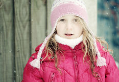 Fronte della ragazza piacevole Immagine Stock Libera da Diritti
