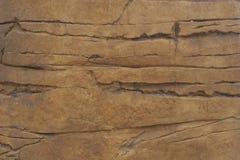 Fronte della roccia Immagini Stock