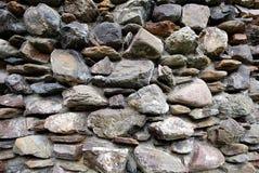 Fronte della roccia. fotografia stock