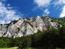 Fronte della roccia Fotografia Stock