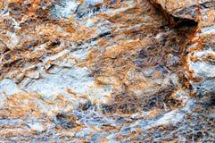 Fronte della roccia Fotografie Stock