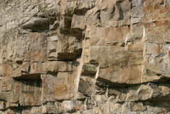 Fronte della roccia Immagine Stock Libera da Diritti