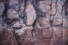 Fronte della roccia Fotografie Stock Libere da Diritti