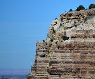 Fronte della roccia al grande canyon Immagini Stock Libere da Diritti