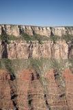 Fronte della scogliera del grande canyon Immagini Stock