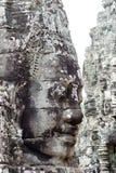 Fronte della statua di Angkor Thom Immagine Stock