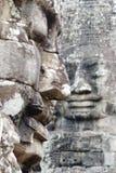 Fronte della statua di Angkor Thom Fotografie Stock