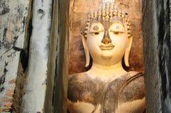 Fronte della statua di Buddha Immagine Stock