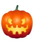 Fronte 002 della zucca di Halloween Immagine Stock
