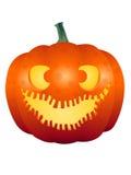 Fronte 003 della zucca di Halloween Fotografia Stock