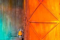 Fronte della zucca di Halloween delle lanterne di Jack o Fotografia Stock
