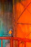 Fronte della zucca di Halloween delle lanterne di Jack o Fotografie Stock