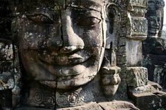 Fronte di Bayon - Cambogia Immagine Stock