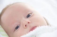 Fronte di bello bambino Fotografia Stock