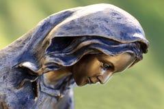 Fronte di Maria santo Fotografie Stock Libere da Diritti