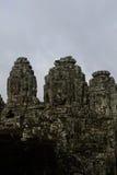 Fronte di mistero a Angkor Thom Immagini Stock Libere da Diritti