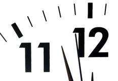 Fronte di orologio Fotografia Stock Libera da Diritti