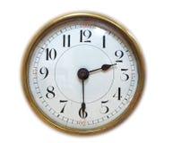 Fronte di orologio antico fotografie stock