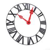 Fronte di orologio con i numeri romani Fotografie Stock Libere da Diritti