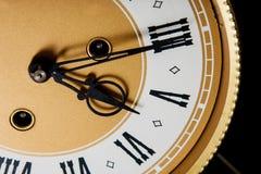 Fronte di orologio freddo Immagine Stock Libera da Diritti