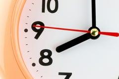 Fronte di orologio nel concetto di tempo Fotografia Stock Libera da Diritti