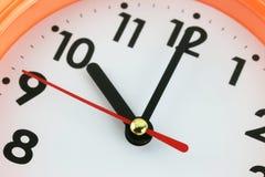 Fronte di orologio nel concetto di tempo Immagine Stock