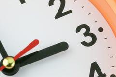 Fronte di orologio nel concetto di tempo Immagini Stock Libere da Diritti