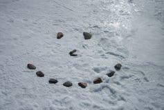 Fronte di pietra sul lago Superiore Immagine Stock