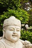 Fronte di scultura di marmo del bambino Fotografia Stock