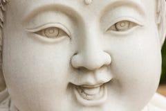 Fronte di scultura di marmo del bambino Fotografie Stock