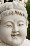 Fronte di scultura di marmo del bambino Immagini Stock