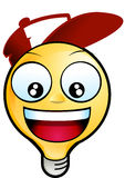 Fronte di smiley royalty illustrazione gratis