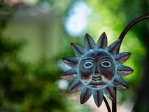 Fronte di Sun da radrizzare Immagine Stock Libera da Diritti