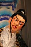 Fronte giapponese dipinto tradizionale della bambola ad un festival Fotografia Stock Libera da Diritti