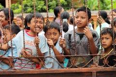 Fronte innocente dei bambini Fotografia Stock