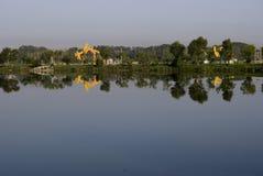 Fronte lago Fotografia Stock
