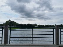 Fronte lago di celebrazione Immagini Stock