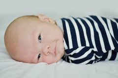Fronte neonato abile fotografia stock