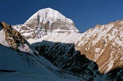 Fronte orientale del Monte Kailash sacro fotografie stock