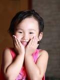 fronte sorridente fotografia stock
