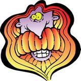 Fronte sorridente RGB del hippy Fotografia Stock Libera da Diritti