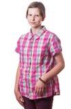 Fronte teenager Fotografie Stock