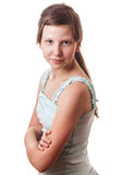 Fronte teenager Fotografia Stock Libera da Diritti