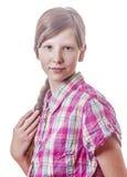 Fronte teenager Fotografie Stock Libere da Diritti